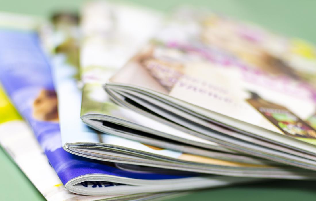 Ein Kunden- oder Mitarbeitermagazin vom journalistischen Profi - als Komplettpaket buchbar.